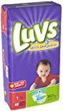 Luvs Ultra Leakguards Diapers, Size 1, 48 Count (Discontinued by Manufacturer)
