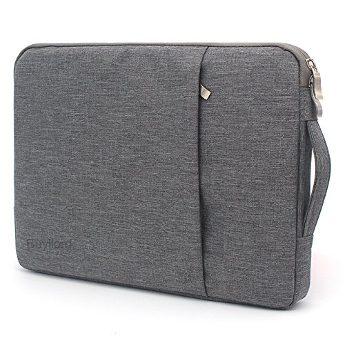 Beyllord Laptop Sleeve 13.3 Inch, Protective Waterproof Chromebook Carrying Case with Handle for 12.5
