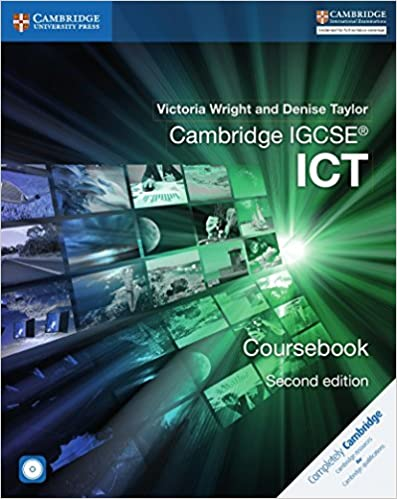 Book's Cover of Cambridge IGCSE ICT. Coursebook. Per le Scuole superiori. Con CD-ROM (Cambridge International IGCSE) (Inglés) Tapa blanda – 25 julio 2016