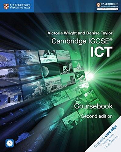 Cambridge IGCSE® ICT Coursebook with CD-ROM (Cambridge International IGCSE)