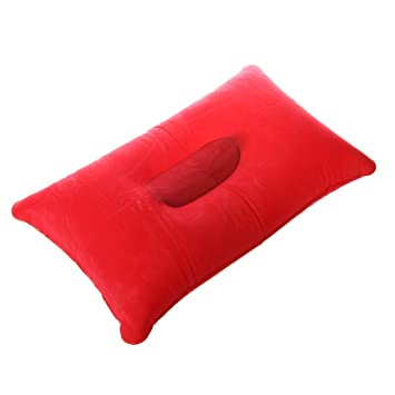 TOOGOO Almohada inflable Almohadilla de Cara Double + inflable ...