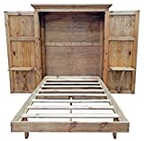 Full Size Solid Wood Murphy Hideaway Bed
