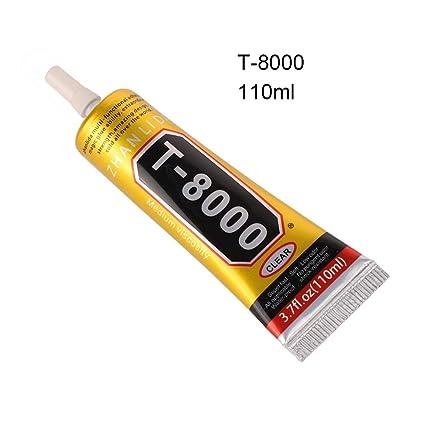 Amazon com: zhangwei T8000 Transparent Glue Resin Glue epoxy