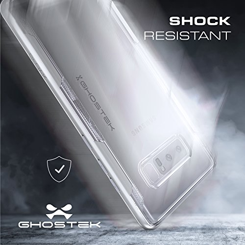 """Ghostek GHOCAS711 Schutzhülle """"Cloak 3 Series"""" für Samsung Note 8 silber"""