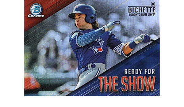 Amazoncom 2019 Mlb Bowman Ready For The Show Chrome Refractor