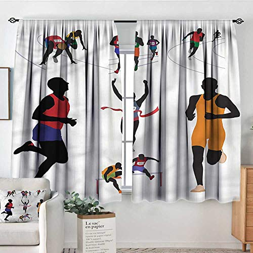 Anzhutwelve Olympics,Curtains and Drapes Runners in Campus Fitness 42