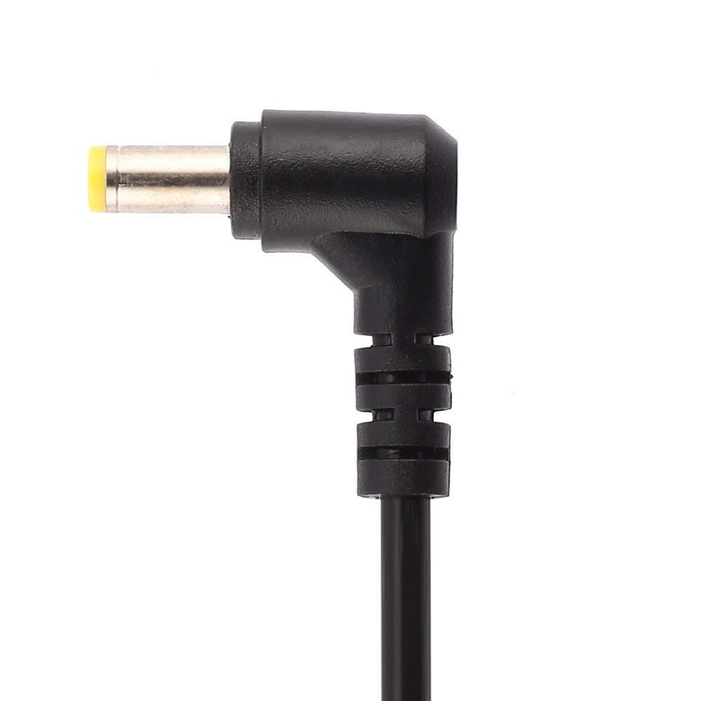 DGdolph Conector del Cable de alimentaci/ón de CC de 5,5 x 1,7 mm Recto para el Adaptador de Acer Cable del Cargador Negro