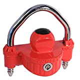Trimax UMAX25 UMAX Red Universal Die Cast Dual Purpose Narrow Body Coupler Lock