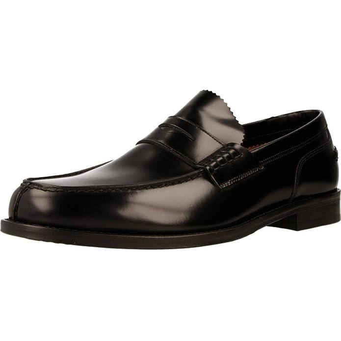 Mocasines para Hombre, Color Negro, Marca LOTTUSSE, Modelo Mocasines para Hombre LOTTUSSE L6902 Negro: Amazon.es: Zapatos y complementos