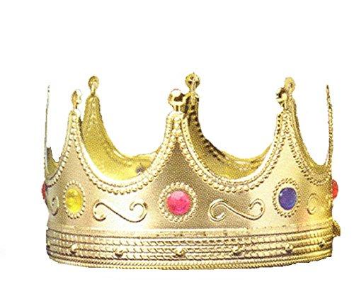 [Forum Novelties Regal King Crown One-Size] (V Costume For Sale)