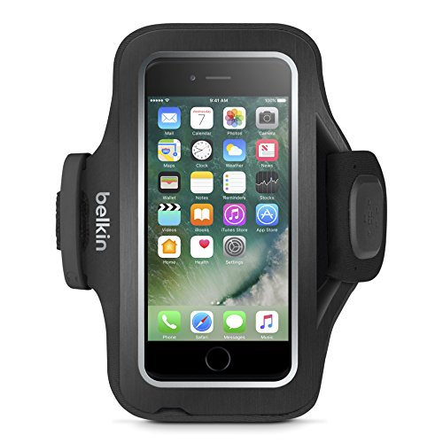 - Belkin Sport-Fit Pro Armband for iPhone 7 Plus and iPhone 8 Plus (Black)