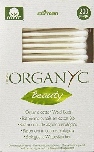 ORGANYC Organic Cotton Swabs(pack of 3)