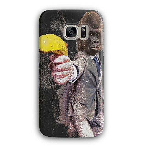 Gorilla Banana Costume (Gorilla Gun Beast Animal Monkey Banana 3D Samsung Galaxy S7 Case |)