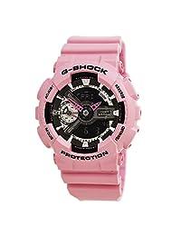Casio G-Shock GMAS110MP-4A2 S Series Analog Digital Pink Watch