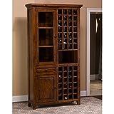 Best Hillsdale Furniture Wine Cabinets - Hillsdale Furniture 5225-949W Tuscan Retreat 83