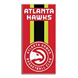 """Officially Licensed NBA """"Zone Read"""" Beach Towel, 30 X 60 Inches, Multi Color"""