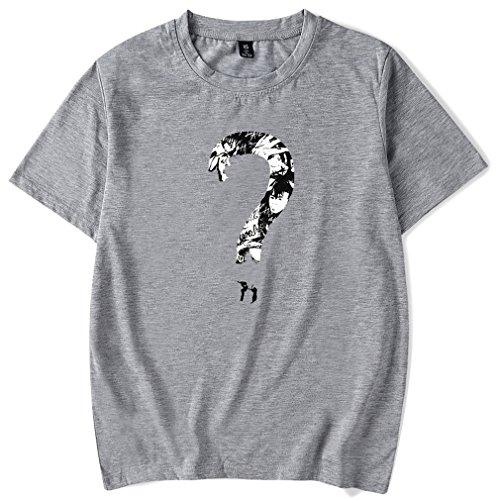 Maglietta Top Interrogativo Xxxtentacion P Teen T Socluer per Shirt Uomo Punto Grigio R Unisex Cool I Hip Pop Donna Tee Rapper qPRxwOgtxF