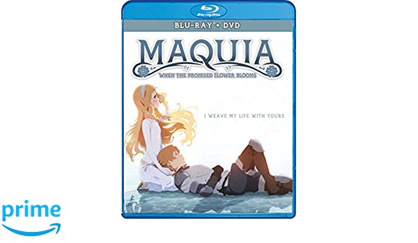 Maquia When The Promised Flower Blooms Blu Ray Dvd Combo Blu Ray