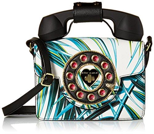 Betsey Johnson Mini Palm Print Phone Bag, Multi