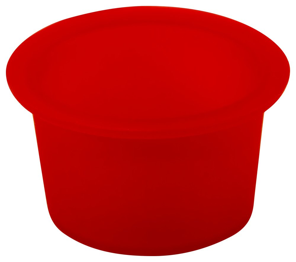 Caplugs 99192748 masking Tapered Cap and Plug. TS-46, SILICONE, Cap OD 2.706'' Plug ID 2.940'', Red (Pack of 200)