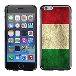 Graphic4You Vintage Italian Flag of Italy Design Hard Case Cover for Apple iPhone 6