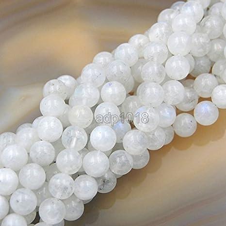 104050-1103 9-10MM Orange Moonstone Beads India AA Genuine Natural Gemstone Full Strand Round Loose Beads 15.5 BULK LOT 1,3,5,10,50
