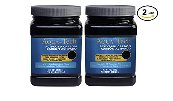 Amazon.com : AquaTech Activated Carbon Fish and Aquatic Pet Water Cleaner - Pack of 2 : Pet Supplies