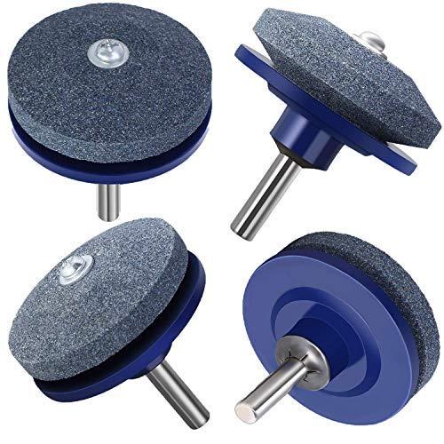 bluedery Corundum - Afilador de Cuchilla para Taladro eléctrico (4 ...
