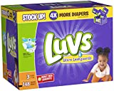 Health & Personal Care : Luvs Ultra Leakguards Diapers ,Size 3 ,148 Count