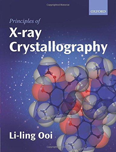 Principles of X-ray Crystallography
