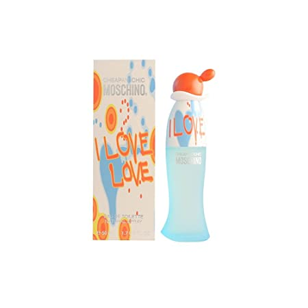 MOSCHINO I Love Love Edt Spray For Frgldy 1.7 OZ