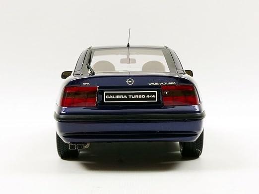 Otto Mobile ot689 Opel Calibra Turbo 4 x 4 - 1996 (escala 1/18, azul Metal: Ottomobile: Amazon.es: Juguetes y juegos