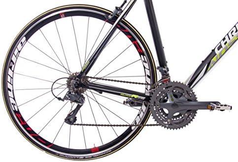 CHRISSON - Bicicleta de carreras de 28 pulgadas - Reloader negro ...