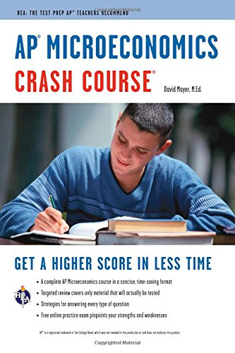 Pdf Teen AP® Microeconomics Crash Course Book + Online (Advanced Placement (AP) Crash Course)