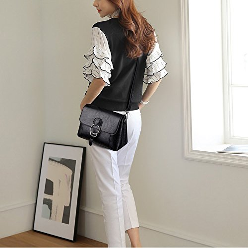 Oblique Version Shoulder Middle The Korean 2017 Leather New Bags Zq Soft Bag Ladies Mother Female Of Small Wild aged Summer tXqOAwrXx