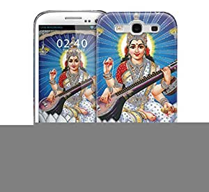 Saraswati river blue Samsung Galaxy S3 GS3 protective phone case