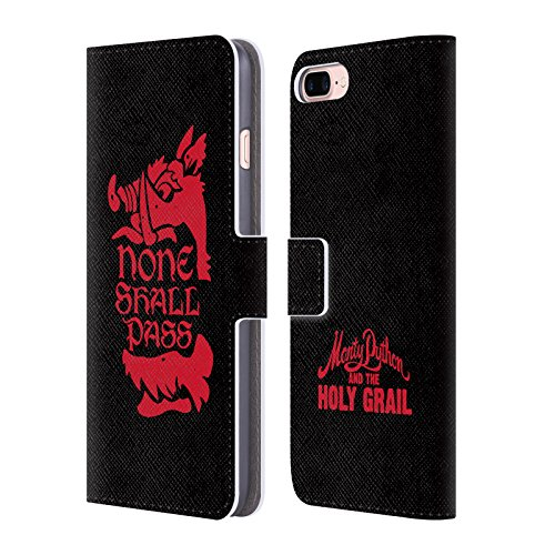 Official-Monty-Python-None-Shall-Pass-Key-Art-Leather-Book-Wallet-Case-Cover-For-Apple-iPhone-7-Plus