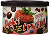 Dolci Frutta Hard Chocolate Shell, 4 Count, 8oz. Containers, Fondue or Dipping