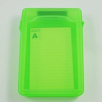 TOOGOO Caja de Almacenamiento IDE/SATA HDD Disco Duro 3.5-Pulgadas (Verde): Amazon.es: Electrónica