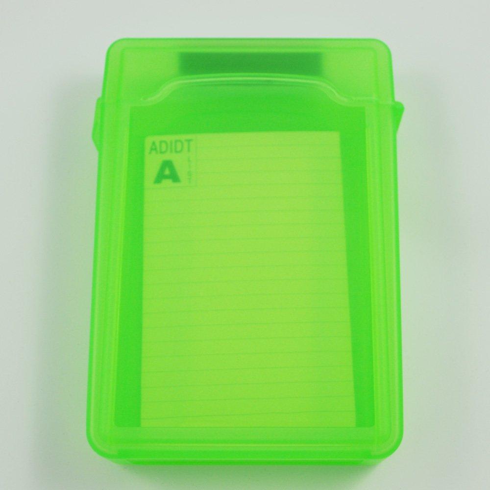 SODIAL(R) Caja de Almacenamiento IDE/SATA HDD Disco Duro 3.5-Pulgadas (Verde) 006136