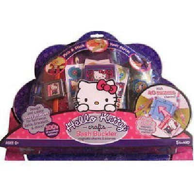 Hello Kitty Crafts Sash Buckler Magnetic Charms and - Hello Kitty Scarf