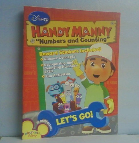 Handy Manny Workbooks w/Stickers - Numbers & Counting by Playhouse Disney (2008-03-04)