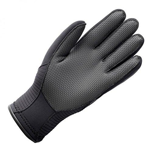 GILL Kids Youth Junior 3MM Neoprene Wetsuit Winter Gloves in Black - Unisex - Liquid Taped Seams Protected Against Water Ingress