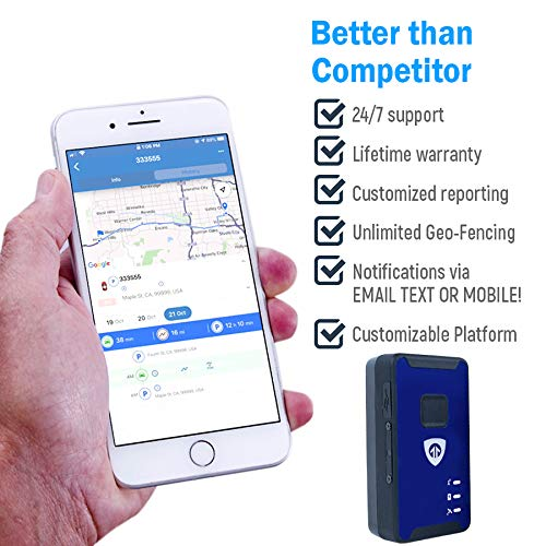 Assets Spark Nano 7 4G LTE Micro GPS Tracker for Covert Monitoring of Teen Drivers Kids Employees Elderly