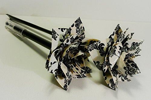 Duct Tape Baroque Flower or Flower pen Baroque Pen