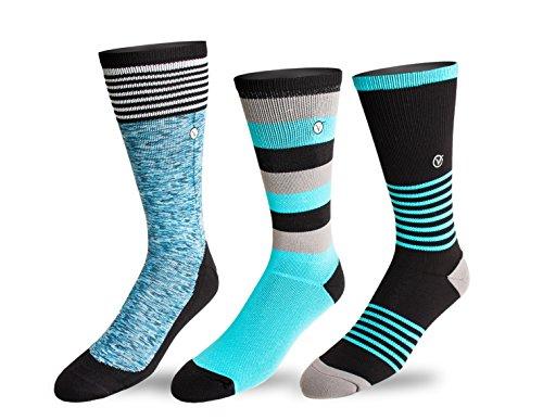 Mens Pack Crew Athletic Socks
