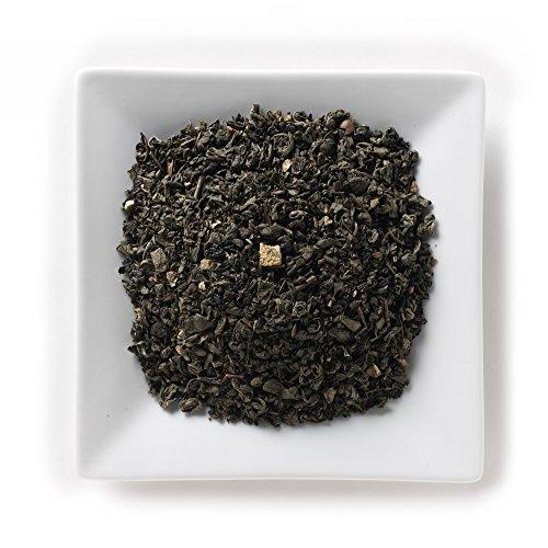 Mahamosa Mint Lemon Green Tea 2 oz - Flavored Loose Leaf Green (Lavender Green Tea)