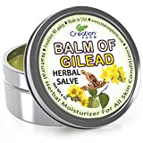 Balm of Gilead Salve - Large 4 Oz Tin - All Botanical Balm of Gilead Ointment, Todos Bálsamo de Galaad pomada botánico from Creation Farm