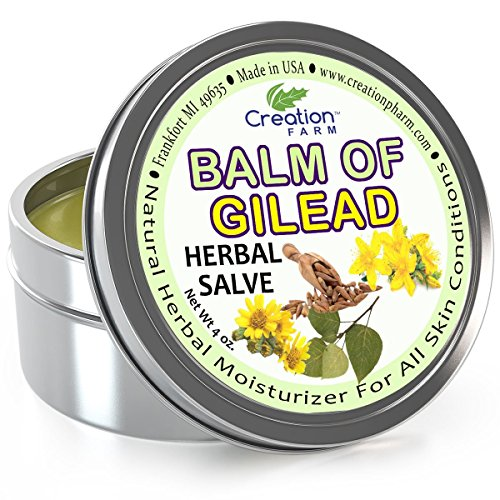 Balm of Gilead Salve - Large 4 Oz Tin - All Botanical Balm o