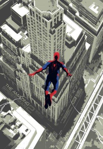"THE AMAZING SPIDER-MAN 2 - 13""x19"" Original Promo Movie Poster 2014 Imax Version FanFix MINT"